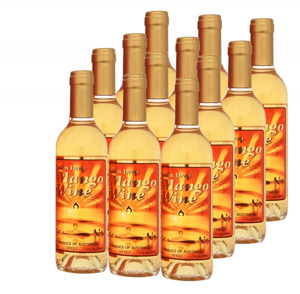 Mango Wine Variety Box of 12 - 375ml-0