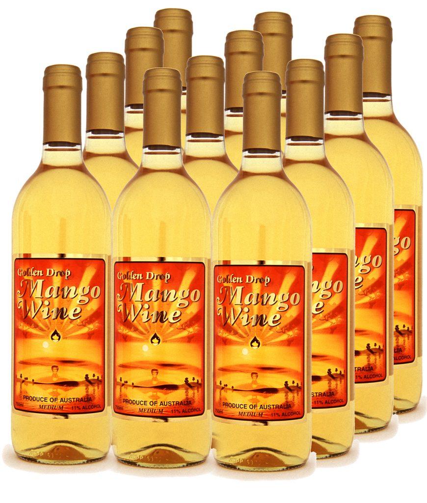 Mango Wine Variety Box of 12 – 750ml